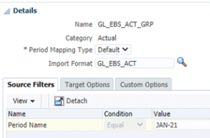 Oracle EBS GL Balances to Oracle Cloud EPM Connection 5