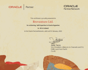 Oracle Hyperion Certificate